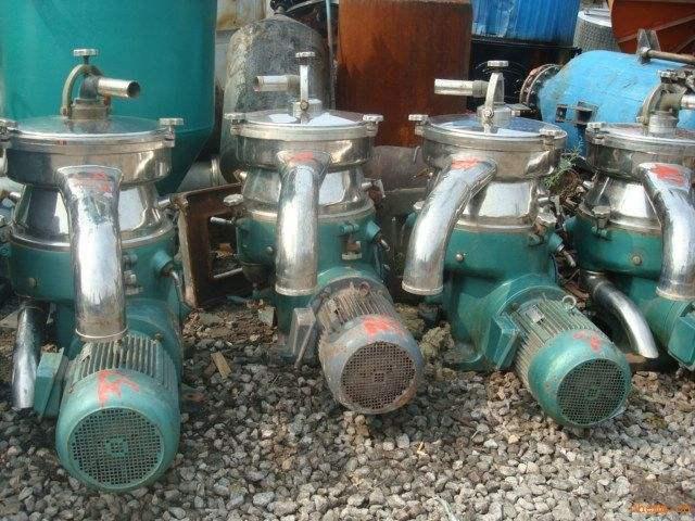 二手泥浆分离机 二手药渣分离机 二手生物柴油分离机