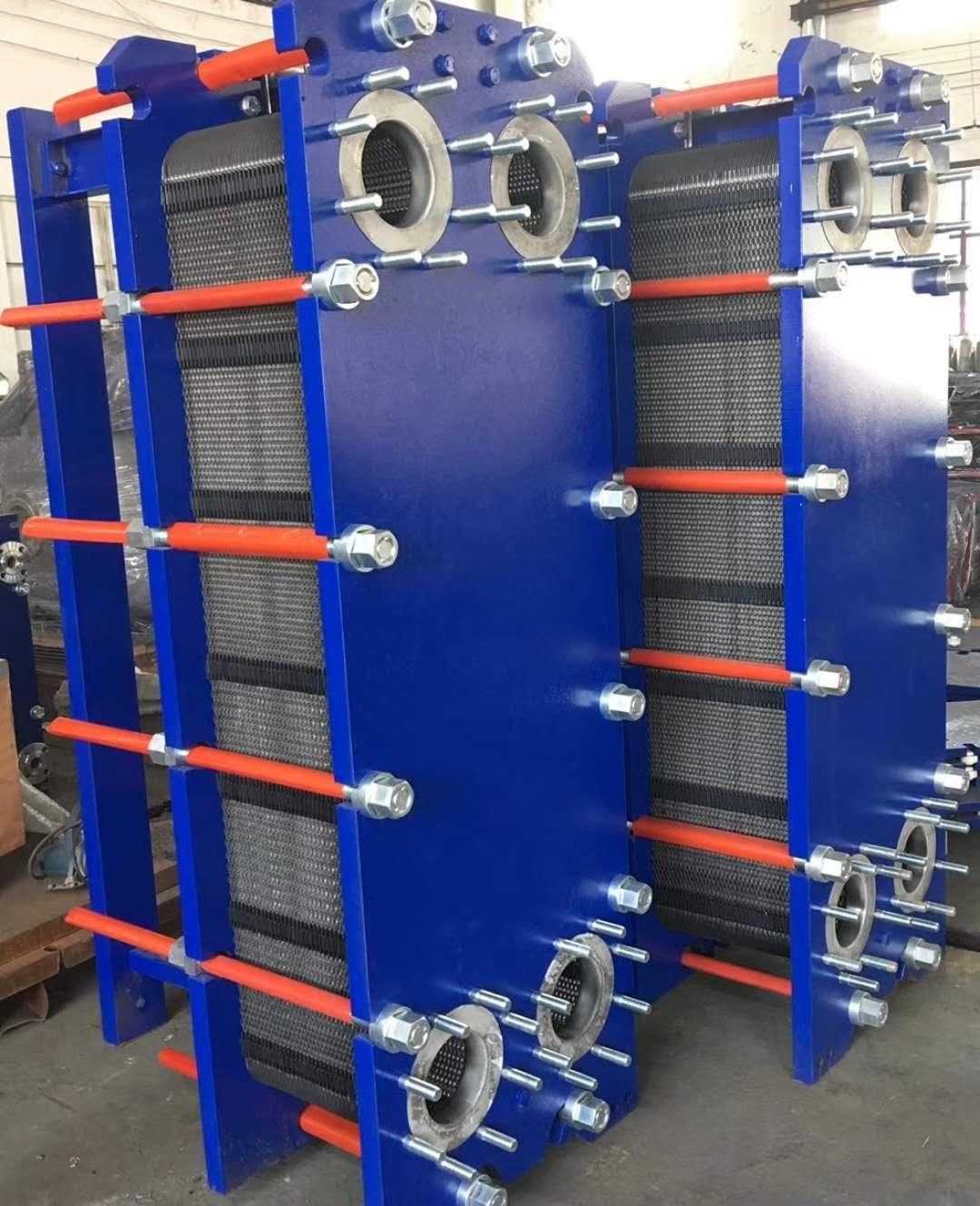 板式换热器加热鲸油 冷却植物油 冷却甘油乳化油热交换设备