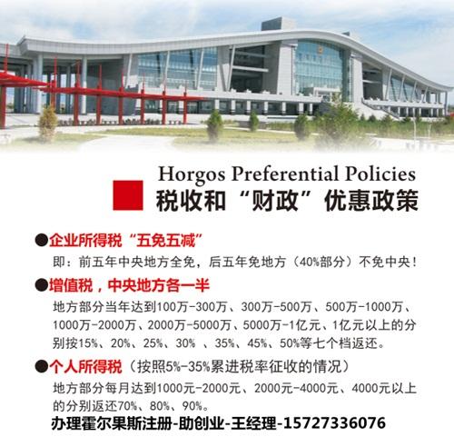 专业办理霍尔果斯注册一般人公司找助创业