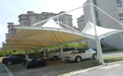 温州膜结构停车棚 工程