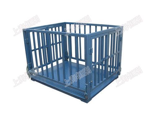 养猪场专用称猪的电子秤 带护栏称猪电子地磅