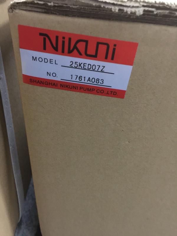 尼可尼NIKUNI水利发电站涡流泵32FH-V