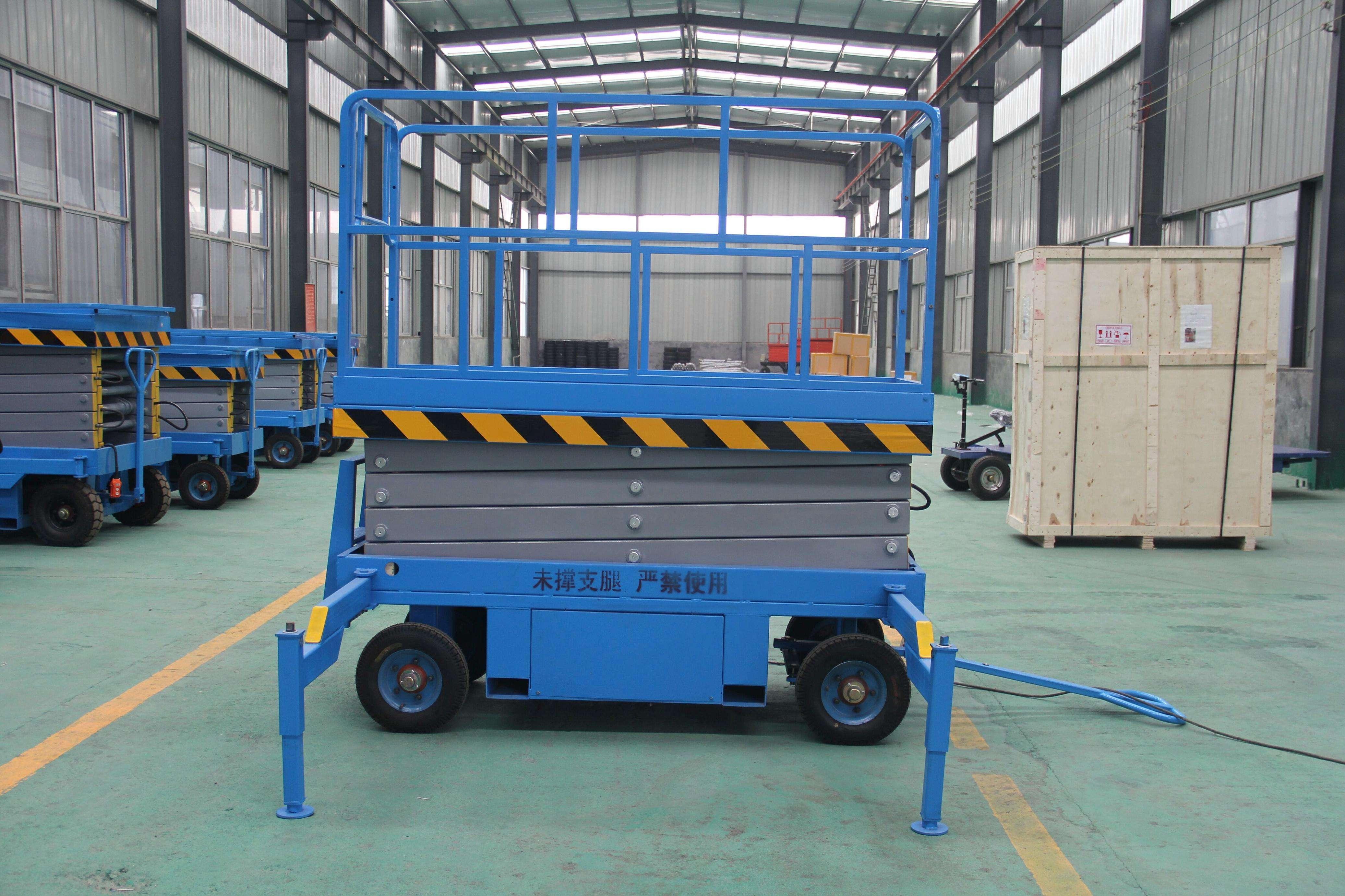 500公斤12米剪叉升降平台重庆销售网点找滨河升降平台