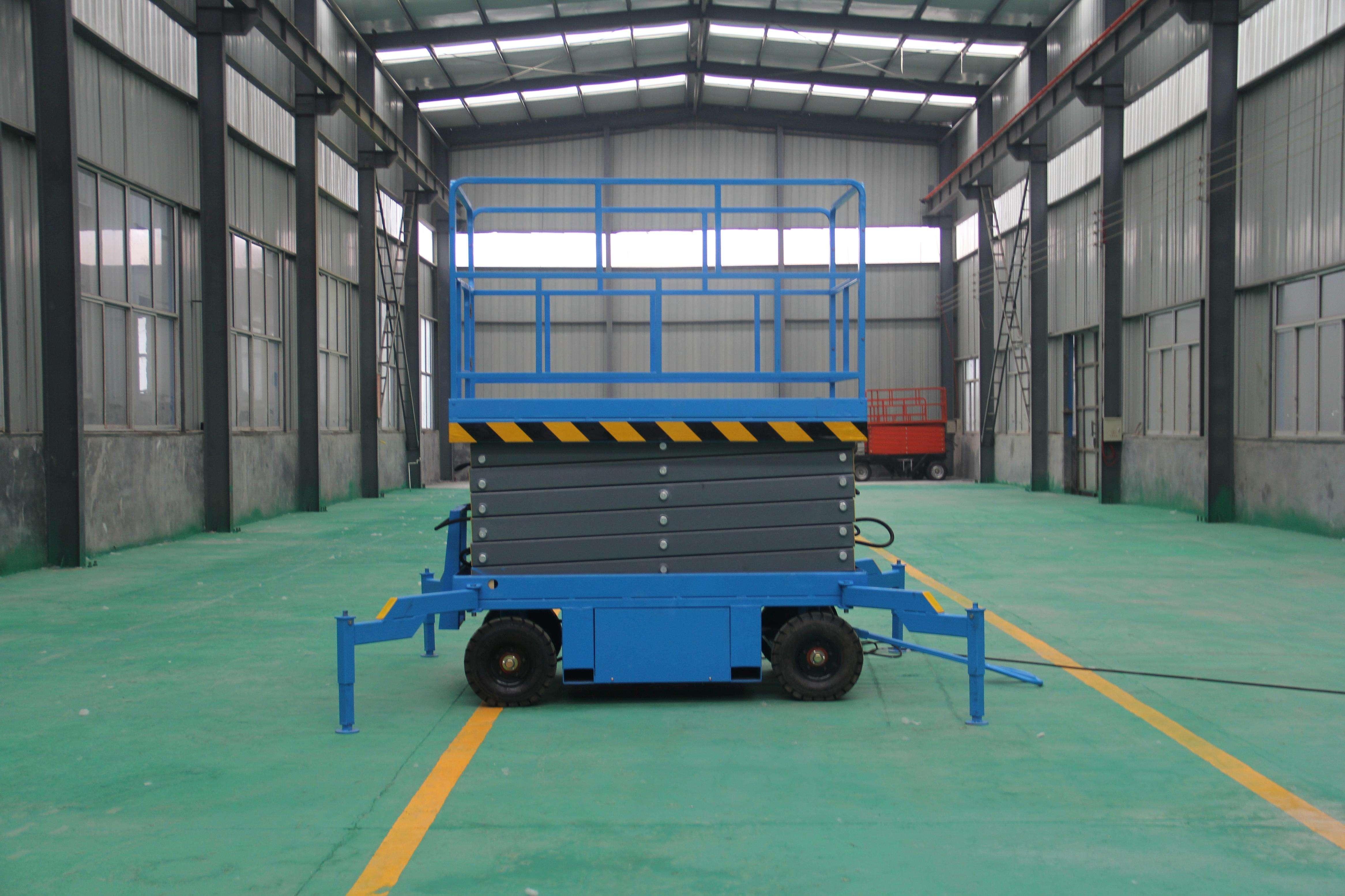 移动升降平台-怒江泸水县300公斤移动升降平台厂家18615651027