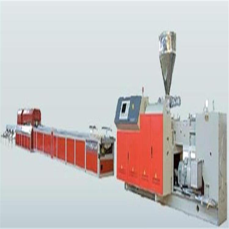 PP中空塑料建筑模板生产线