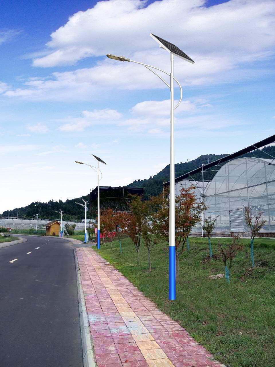 成都太阳能路灯厂家哪家好 路灯哪家好
