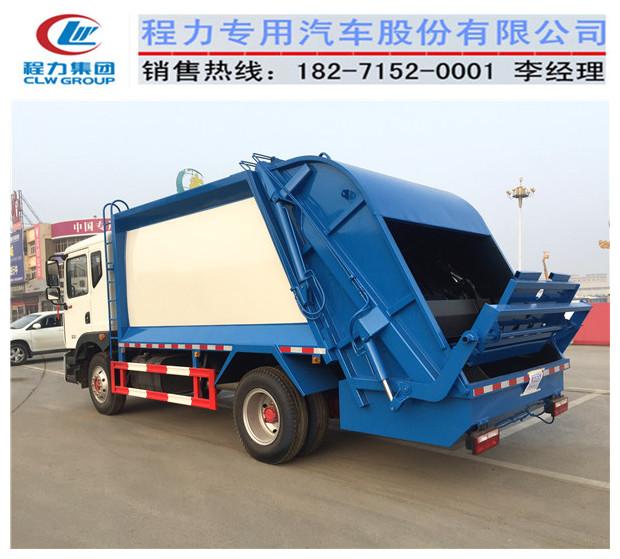 东风新款14方压缩垃圾车多少价格一辆