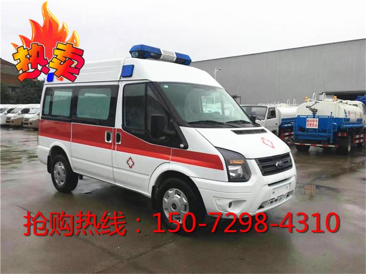 丰田海狮2.0T救护车几多钱