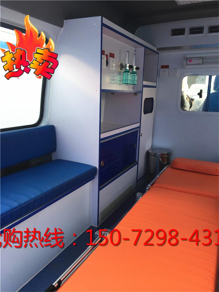 全顺2.0T救护车现货销售