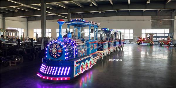 【无轨小火车】游乐设备在国内的发展