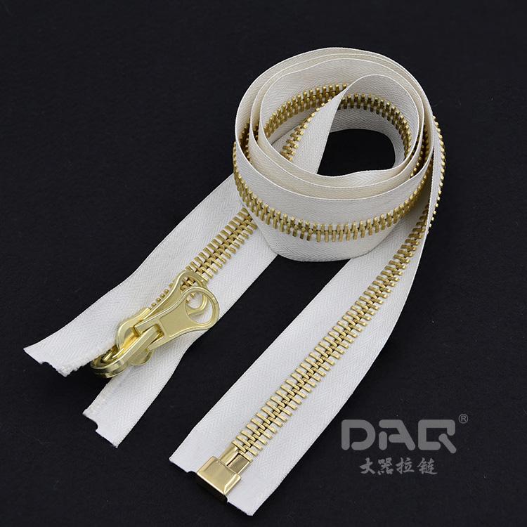 大器拉链DAQ:高端羽绒服拉链,口袋拉链,校园拉链,金属拉链定制