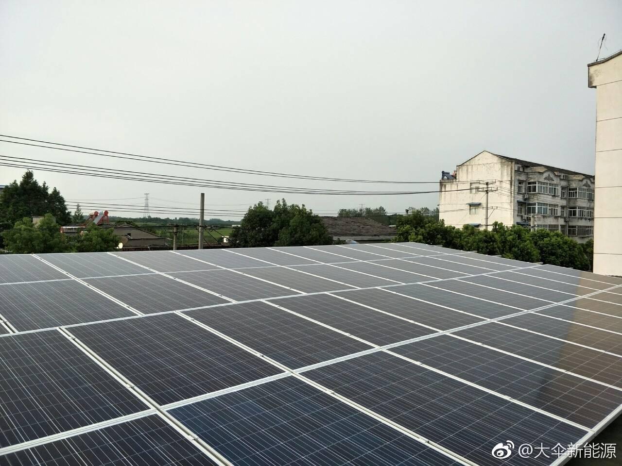 教学楼30KW光伏电站