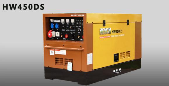 日本电王北京工厂出品HW450汽油发电电焊机,发电焊机,自发电焊机,引擎焊机