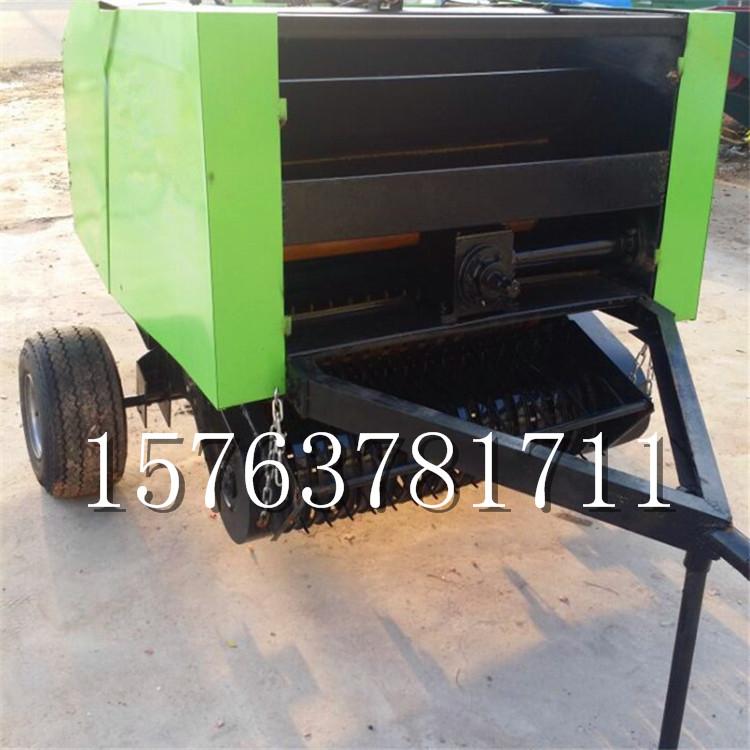 拖拉机带动小麦玉米铁杆打捆机 现货