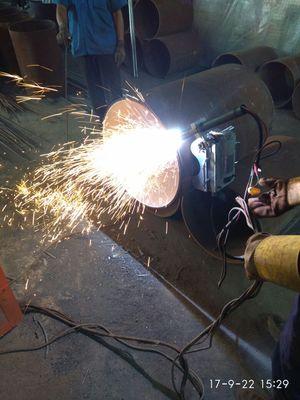小爬虫火焰切管机,cg2-11电动管道磁力切割机