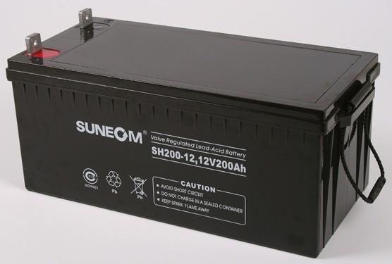 新能SUNEOMups蓄电池SH200-12(12V200AH)现货
