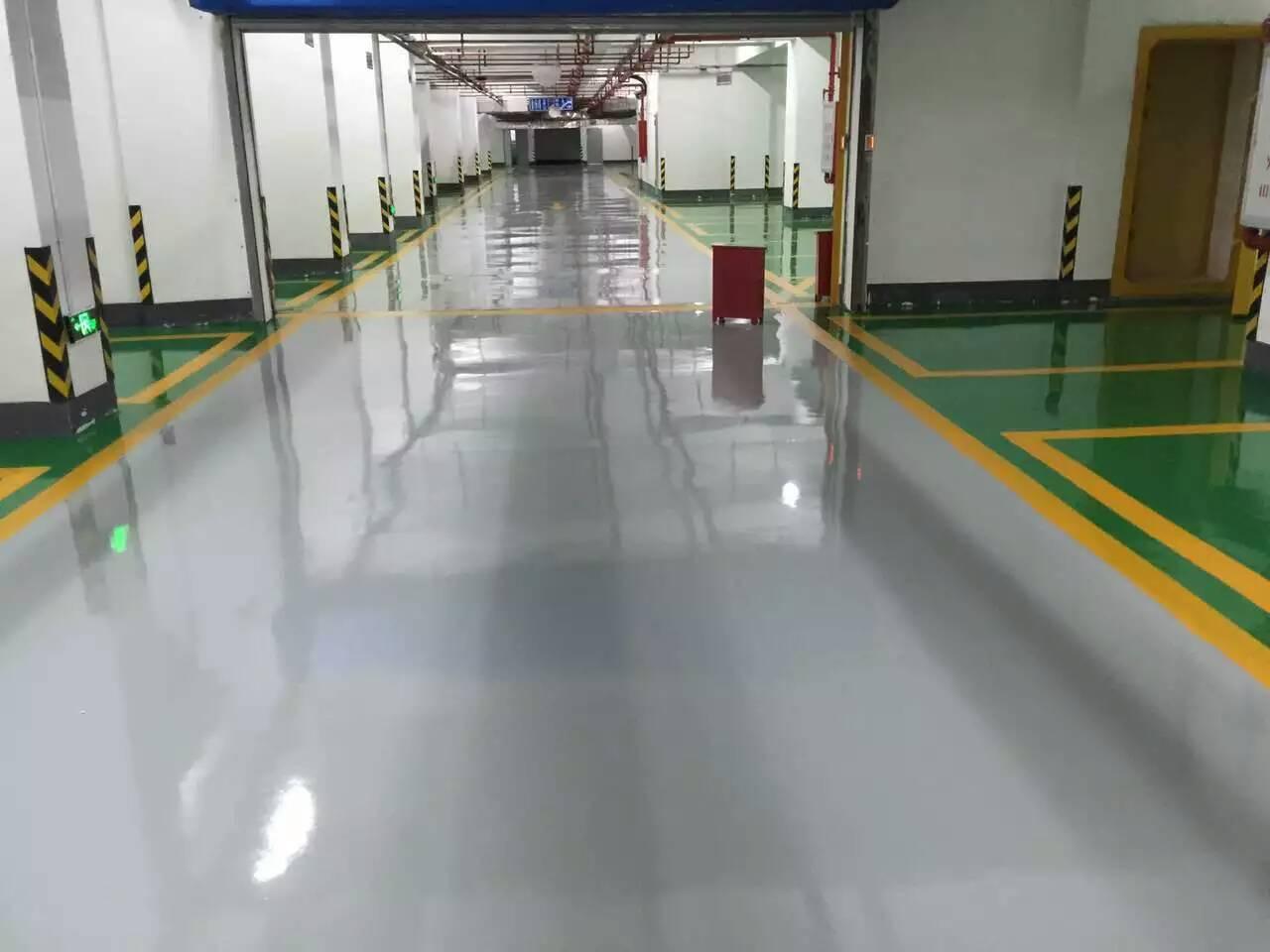青海海东乐都县环氧树脂地坪-厂家