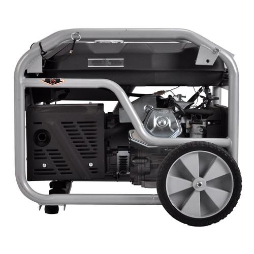 进口5KW汽油静音发电机价格上海生厂