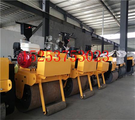 手推式压路机厂家 小单轮压路机价格 山西优质压路机 手动压路机