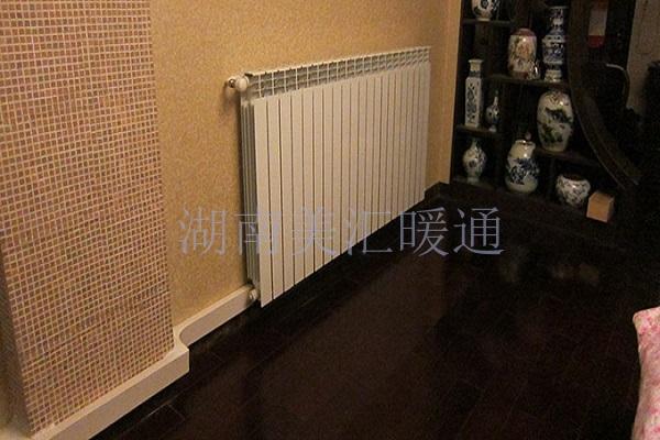 湖南长沙家庭明装暖气片安装多少钱?