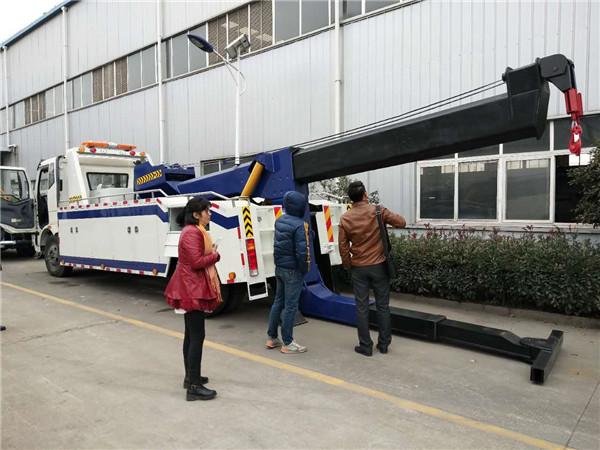 庆阳地区解放车重型拖吊连体