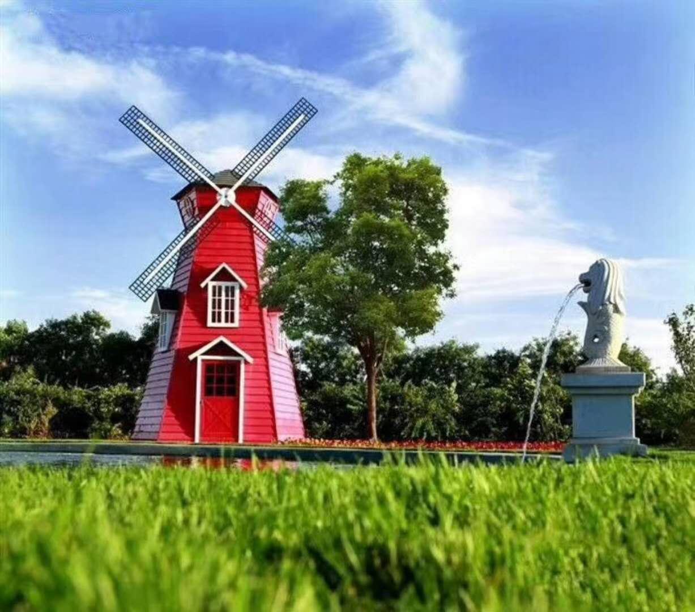 荷兰风车厂家,荷兰风车出租出售