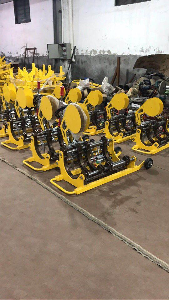 全自动PE燃气管对焊机