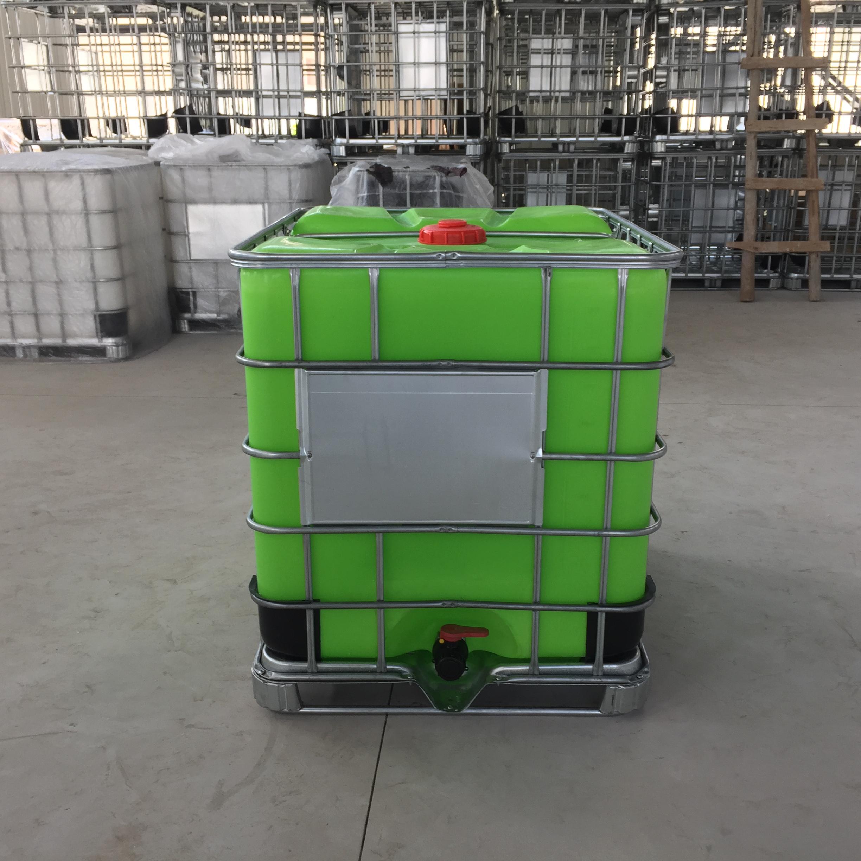 ?江蘇1000L噸桶廠家 直銷消防綠色集裝桶