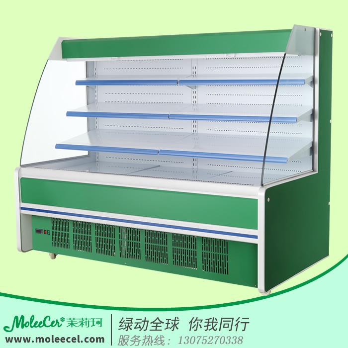 超市水果柜哪个品牌好MLA-20002米A款内机水果风幕柜冰柜价格厂家直销