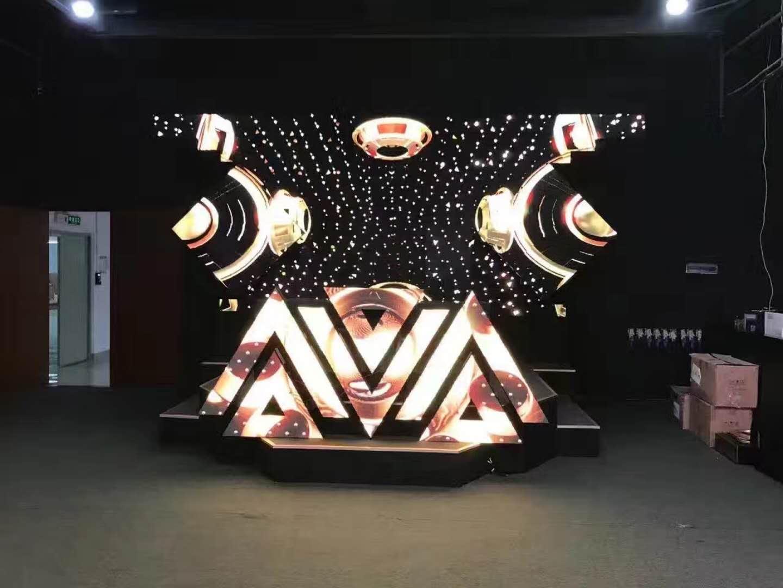 松原酒吧led异形屏AVA LED DJ屏