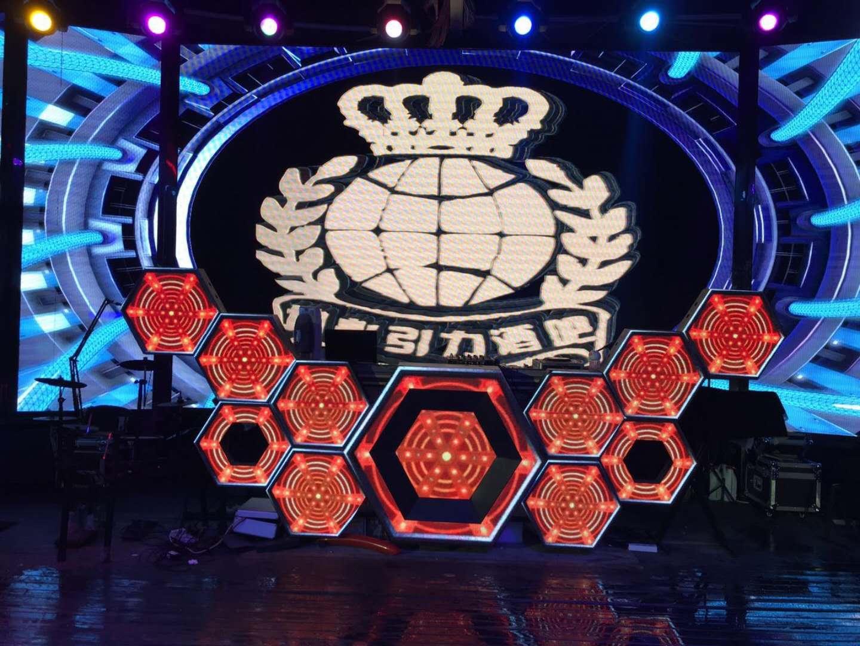 台州酒吧DJ台蜂窝LED DJ屏