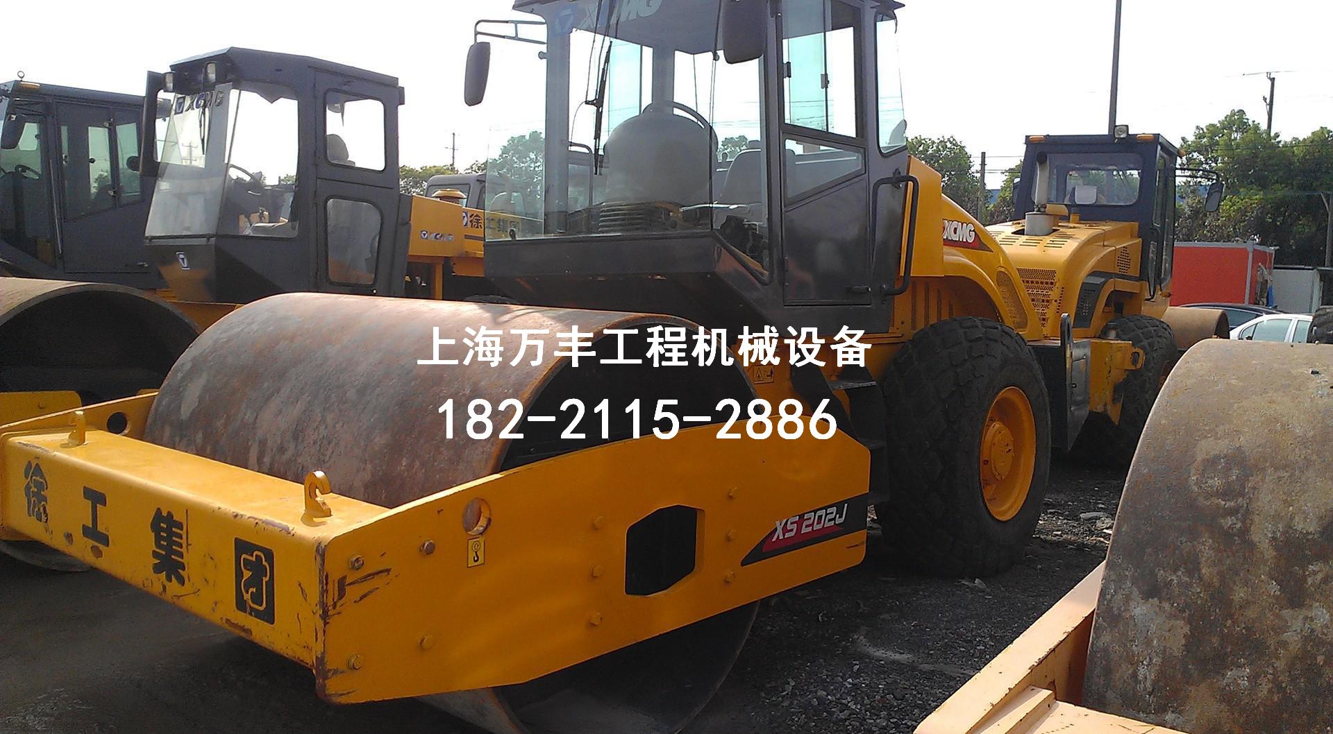 青海省二手20吨压路机现场试机