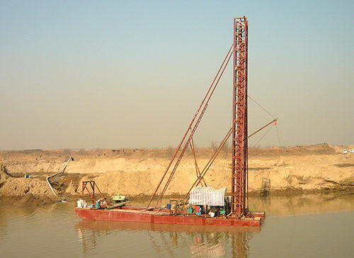 山东钻探式抽沙船厂家