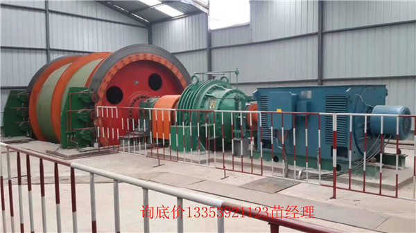 拥有专利的JK-1.6米2米2.5米变频电控矿用提升机厂