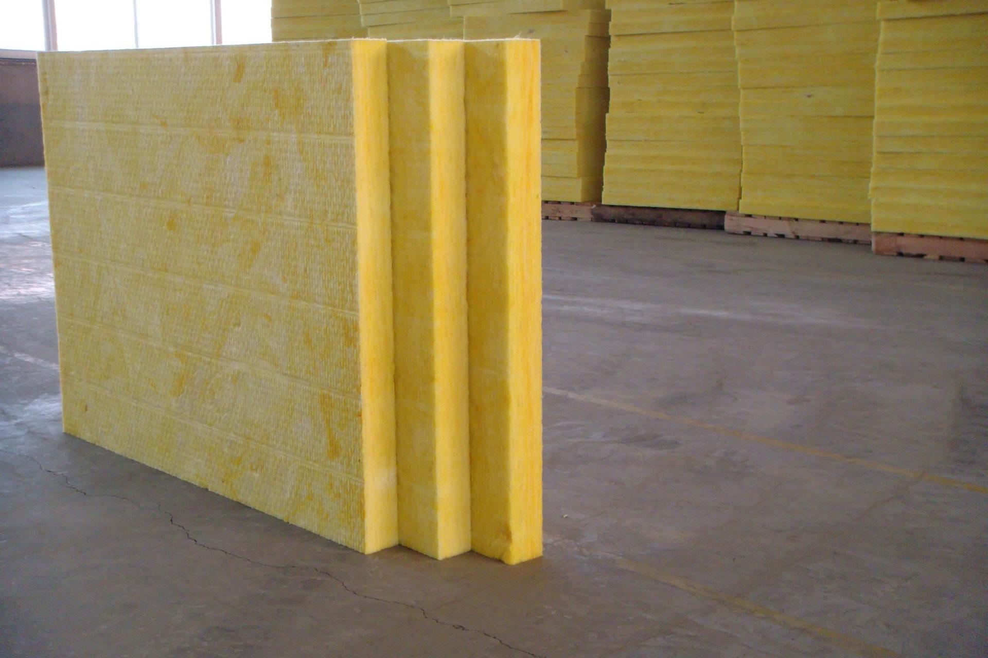 修文48kg辰音玻璃棉板吸音棉板