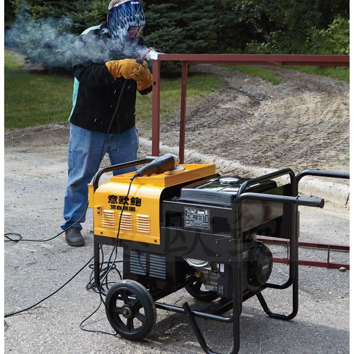 250a移动式柴油发电电焊机