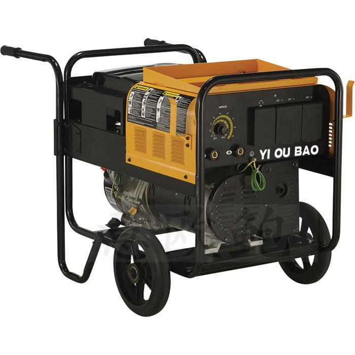 自动化无刷350A柴油发电电焊机