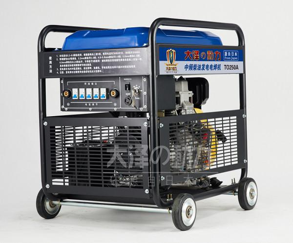 大泽动力280a柴油发电电焊机