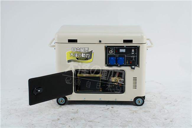 小型6千瓦静音柴油发电机