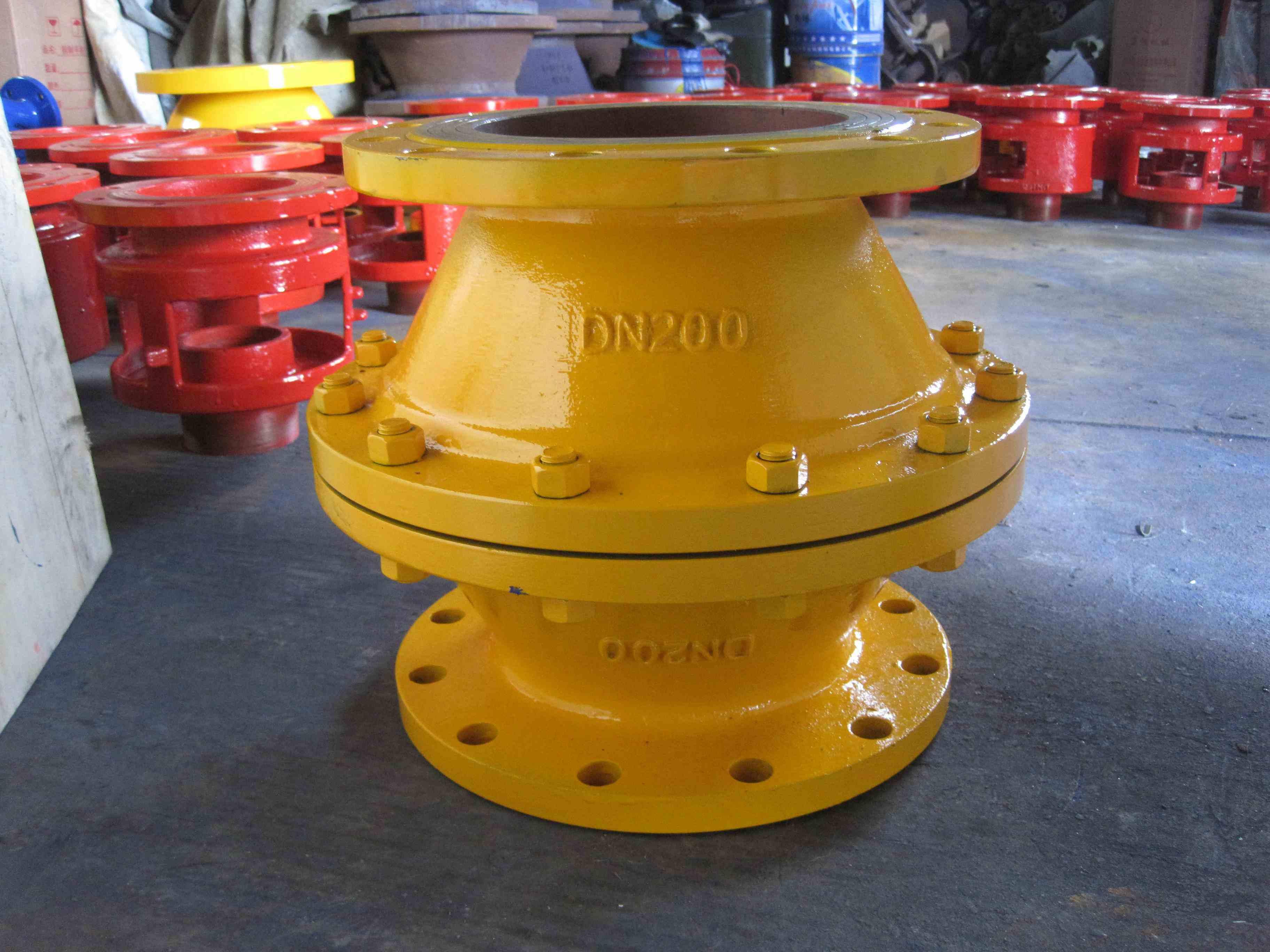 ZHQ-B型阻爆燃型管道阻火器加工出售