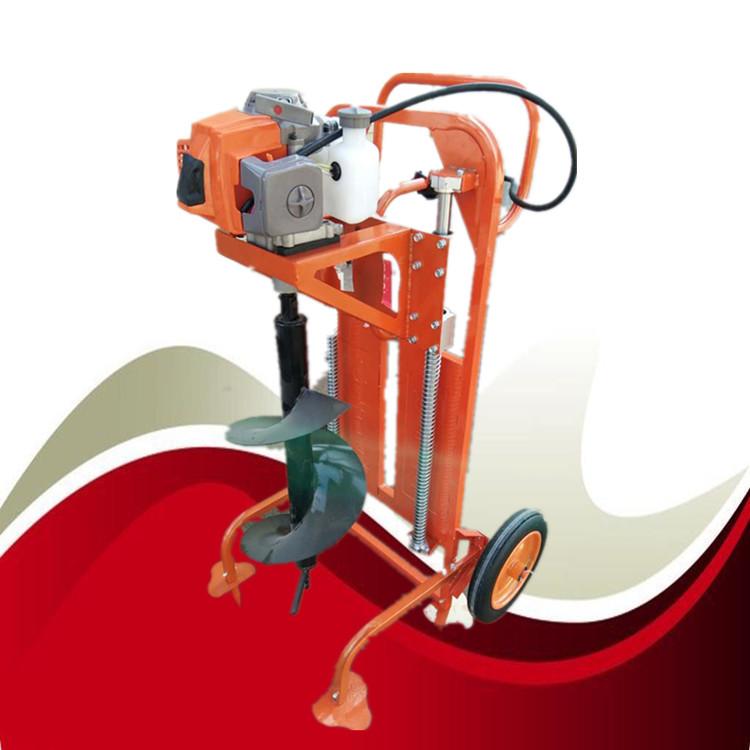 鄂尔多斯 车载式山地挖坑机  畅销的挖坑机