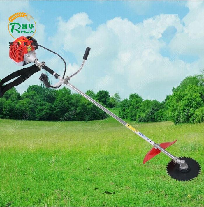 二冲程割草机价格 公园草坪修剪机 汽油园林割草机