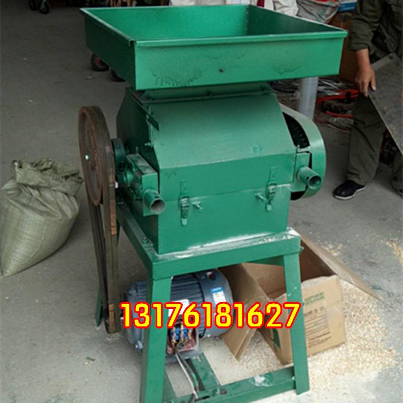 商用电动大豆挤扁机 厚薄可调玉米挤扁机