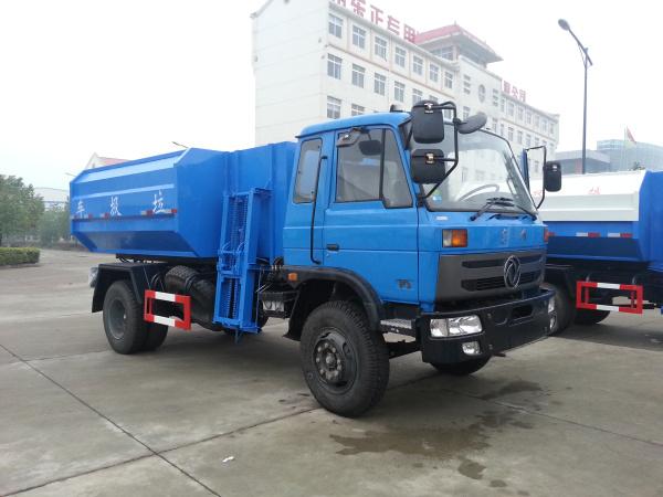 东风145挂桶式垃圾车10-12方