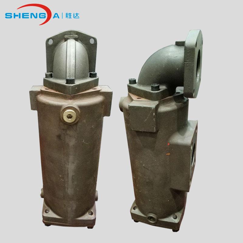 供應新品RFL管路過濾器鍛鋼鑄造做工精細液壓系統油過濾環保設備