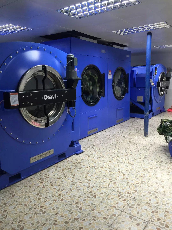 沈阳水洗厂大型集成洗衣流水线系统