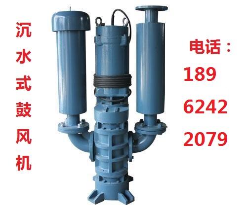 低噪音-瑞柘RZSW-6537沉水式鼓风机-河道污水处理专用