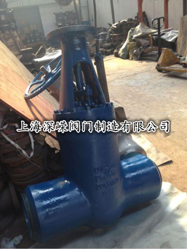 高压蒸汽截止阀J61Y-250DN225电站焊接截止阀深嵘阀门厂