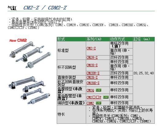 CDQ2F40-40DCMZ现货快速报价