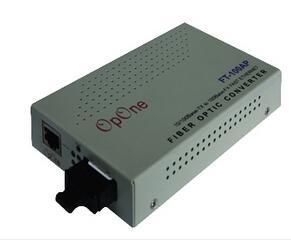 OpONE百兆单模光纤收发器FT-100A-S2SC代理商